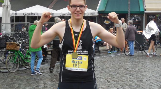 Marathonbestzeit in Antwerpen pulverisiert!