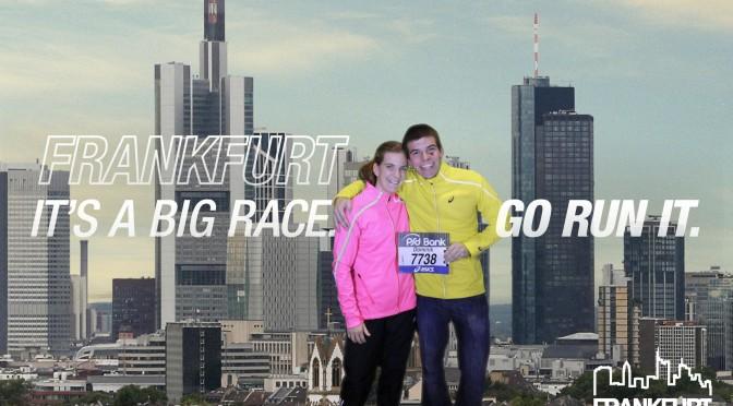 Marathondebüt in Frankfurt wie es besser nicht hätte sein können!