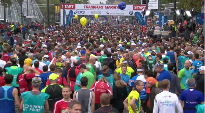 Nennt Eure Kinder: Dominik! (Frankfurt Marathon – wie man ihn aus der Ferne erlebt …)