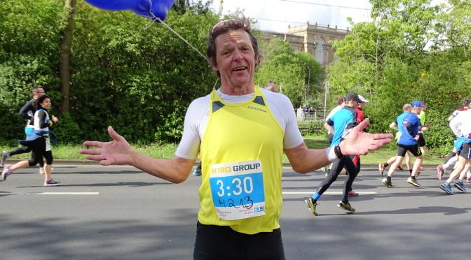 Michael, mein Marathon-Engel