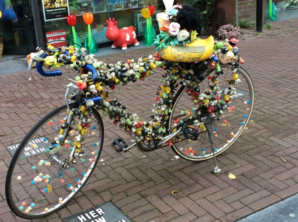 Fahrrad für Gummienten